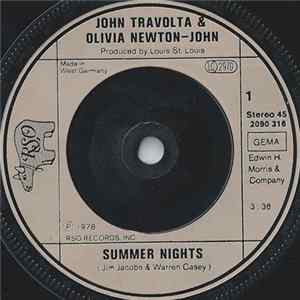 John Travolta & Olivia Newton-John / Louis St. Louis - Summer Nights / Rock 'N' Roll Party Queen