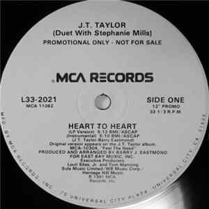 J.T. Taylor Duet With Stephanie Mills - Heart To Heart
