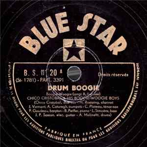 Chico Cristobal & His Boogie-Woogie Boys - Drum Boogie / Bobby Soxers Boogie